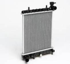 Радиатор охлаждения двигателя. Hyundai Accent, LC2 Hyundai Verna G4EA, G4EB, G4ECG, G4EDG, G4EK