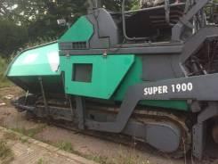 Vogele Super 1900-2, 2001