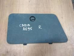 Крышка бардачка задняя правая Toyota Sprinter Carib AE95 91г 4A-FE