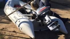Лодка BRIC-380 с мотором Ямаха-25