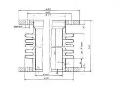 Компенсатор судовой выхлопного коллектора D=755 мм- 2шт в Находке
