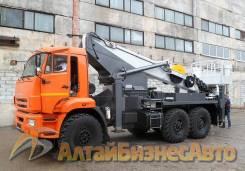 Novas. Автовышка 35 м, -350 на шасси КамАЗ-43118, 11 760куб. см., 35,00м.