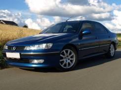 Стекло противотуманной фары Peugeot 406 1996-2004 левое правое