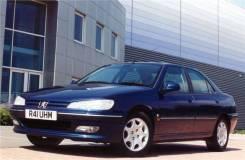 Стекло противотуманной фары Peugeot 406 1996- левое правое