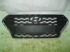 Решетка радиатора. Hyundai Solaris, HCR G4FG, G4LC