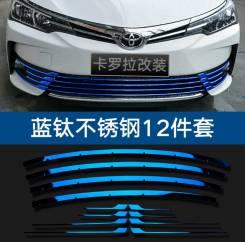 Молдинг решетки радиатора. Toyota Corolla, NRE180, ZRE181, ZRE182. Под заказ