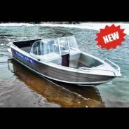 Алюминиевая моторная лодка Wyatboat 430DCM