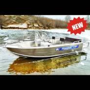 Алюминиевая моторная лодка Wyatboat 430DC