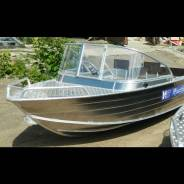 Алюминиевая моторная лодка Wyatboat 430PRO