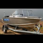 Алюминиевая моторная лодка (катер) Wyatboat 460