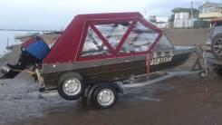 Продам мотолодку крым-м с 4х тактным мотором сузуки 60 атс
