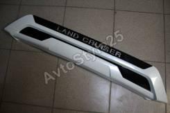 Накладка на переднюю губу Land Cruiser 200 2016, Executive White, белая