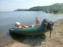 Лодка пвх вектор380