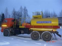 Установка для кислотной обработки скважин СИН-32 на шасси Камаз 43118