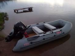 Мотор и лодка