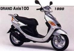 Yamaha grand axis 100/ bWS 100 разбор