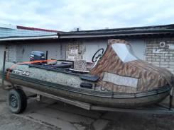 Лодка shturman 420 jet pro, мотор yamaha 30 hwcs