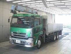 Nissan. Бортовой грузовик с манипулятором Truck, 15 700куб. см., 6x4. Под заказ