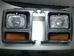 1982 - 1986 Ford Bronco F150 фары лицевых панелей хром пластик б/у OEM