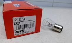 Лампочка цокольная 2 контакта Koito 4524