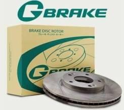 Диск тормозной G-brake Toyota Vitz, Platz, Yaris кузов #CP1#
