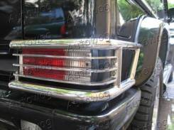 Защита стоп-сигнала Mercedes G-Class W463 /G65 / G63, стальная