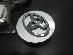 4шт колпаки для литых дисков Toyota 62мм (42603-12730) серебро