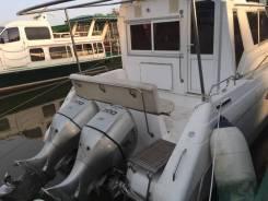 Яхта с подвесными моторами хонда