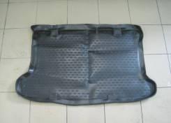 Коврик в багажник (полиуретан) Hyundai Solaris [хетчбэк]