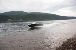 Продам алюминиевый водометный катер Росомаха R4100Стандарт (новый)