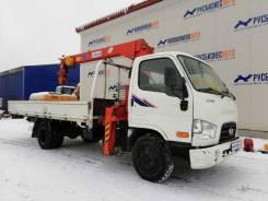 КМУ Kanglim KS733 на шасси Hyundai HD-78, б/у (2013 г. в., 50 000 км.,