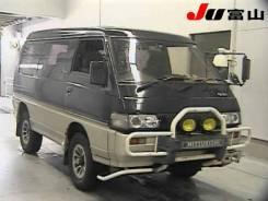 Фара. Mitsubishi Delica, P35W, P23W, P24W, P25W