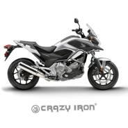 Crazy IRON дуги Honda NC700XD; NC750XD Автомат С Перемычкой ДЛЯ Крепл