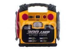 Портативное мультифункциональное пуско-зарядное устройство 300A JS-300