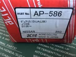 Колодки тормозные Япония ACRE AP-586 передние дисковые