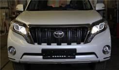 Фара. Toyota Land Cruiser Prado, GDJ150, GDJ150L, GDJ150W, GDJ151W, GRJ150, GRJ150L, GRJ150W, GRJ151W, KDJ150, KDJ150L, TRJ120, TRJ150, TRJ150L, TRJ15...