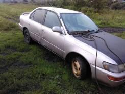 Стекло двери Toyota Sprinter, Corolla, EE101 правое заднее