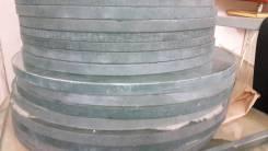 Стекло круглое диаметр 415 толщ15