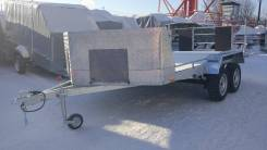 Продам прицеп Аляска Ракета оцинкованный рессорный