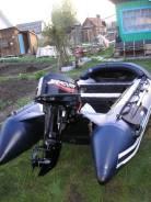 Продам лодку пвх САН Марин 330 комп. макси+мотор меркурий 15 м