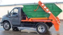 Рарз МК-1412-13. МК-1412-13 Мусоровоз контейнерный на шасси ГАЗон NEXT(без контейнера)
