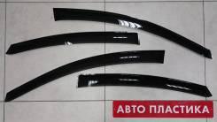 Ветровики дверей Hyundai Solaris 2011-2016 (седан) комплект