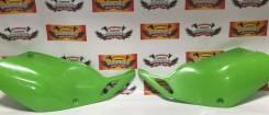 Пластик боковой задний Kawasaki KLX250/300 зеленый