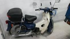 Honda Super Cub. 49куб. см., исправен, без птс, с пробегом