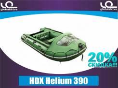 Надувная лодка HDX Helium 390 от официального дилера. НДНД. Акция-20%