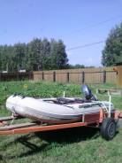 Продам резиновую лодку сильвер 350 без двигателя