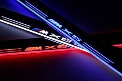 Светодиодные LED Накладки на пороги на любой авто