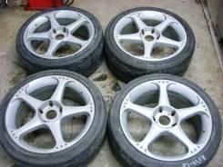 Литые 18x8,0J 5x120 ЕТ35 dia74 Kosei Seneca Sport RG для BMW (4шт)