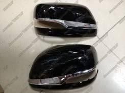 Крышки зеркал Lexus LX570 Superior (корпуса Черные)