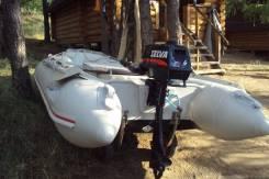 """Надувная лодка """"Баджер"""" 330 HSD в люксовой комплектации"""